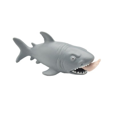 Tricky Soft Man-eating Shark Shape Squeeze Toys,  Interesting Adults Decompression Export Pinch Toys