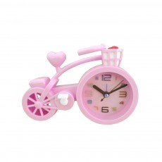 Creative Table Bike Model Alarm Clock, Stylish Minimalist Bicycle Clock
