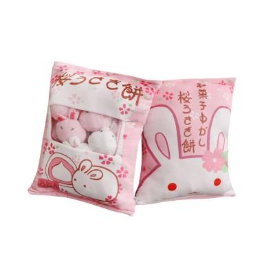 Cartoon Animal Marshmallow Balls Kids Comforting Stuffed Toy Gift Plush Pendant Soft Toys Keychain Doll, Kids Christmas Gift, Tree Decor