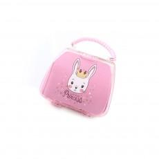 Elegant Cute Acrylic Rabbit Painting Handbag Ornament Decoration, 18 PCS