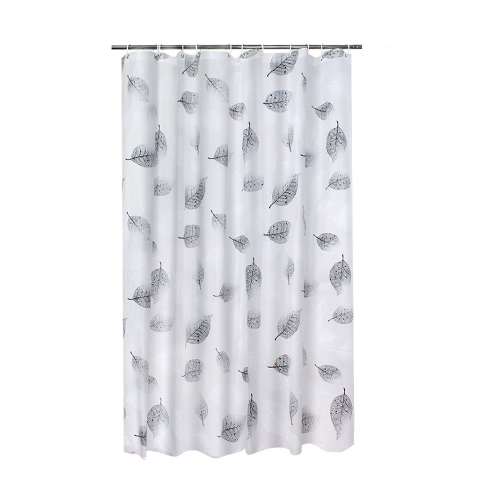 Falling Shower Curtain, Mildew and Waterproof PEVA Shower Curtain for Household
