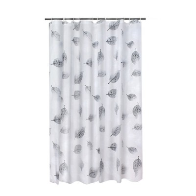 Falling Shower Curtain Mildew and Waterproof PEVA Shower Curtain for Household