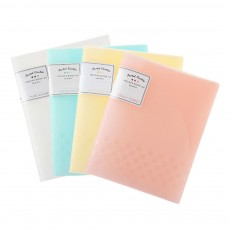 File Sorting Folder, Light Color Cookie A4 File Folder