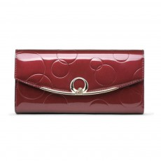 Women's Trifold Wallets Leather Purse For Party, Shopping, Dating