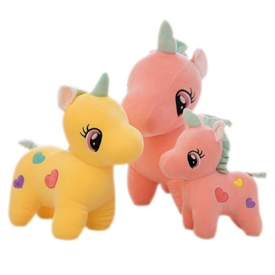 Cute Unicorn Doll Plush Toy, Instagram Famous Doll Children Doll Pillow