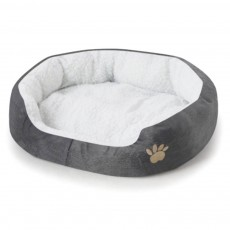 Kennel Ultra-soft Dog Beds, Plush & Lamb Cashmere Washable Cute Peg Beds