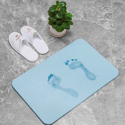 Diatomaceous Earth Mat, Water Absorption Anti-slip Bath mats