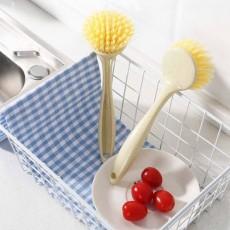 Non Stick Pan Cleaning Brush, Long Handle Brush Pot Artifact