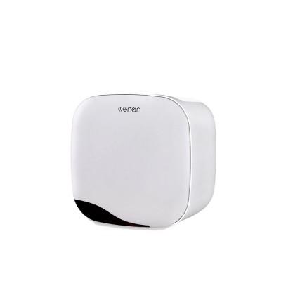 Wall Mount Tissue Box Kitchen Napkin Toilet Paper Holder Punch-free Storage Case