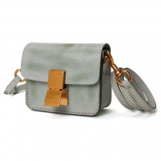 Fashion Mini Shoulder Bag, Retro Handmade Top Cowhide Bag for Women