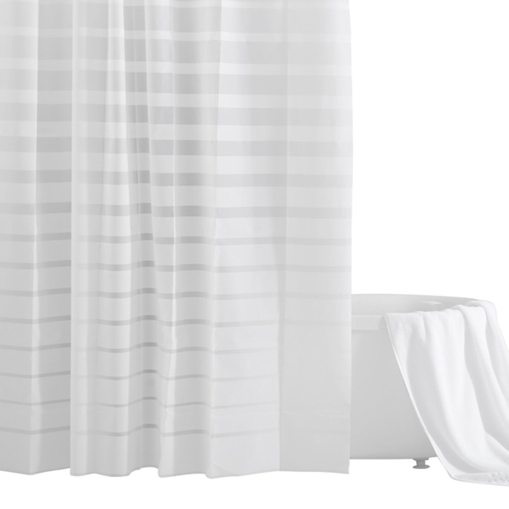 Waterproof Non Mildew Shower Curtain, PEVA  Environmental Shower Curtain For Bathroom