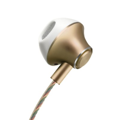 In-Ear Mobile Phone Headset, Line-controlled Dynamic Ring Music Headset