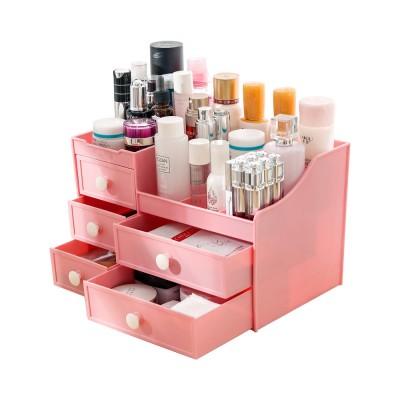 Drawer & Makeup Storage Organizer for Desk, Mask Lipstick Makeup Tools Organizer