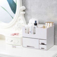 Makeup Desktop Organizer Rack, Storage Box for Lipstick Cosmetic Skin Care Product