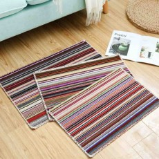 Hot Small Color Floor Mats, Kitchen Bathroom Anti-slip Door Mats