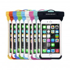 Waterproof Touch Screen Phone Case, Transparent Water Resistant Phone Case For Outdoor Activity