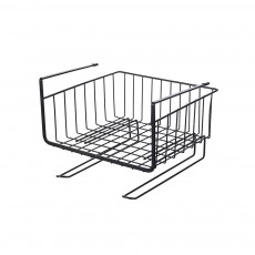 Cabinet Hanging Basket Hanger, Carbon Steel Kitchen Storage Rack, Embedded Suspension Storage Shelf