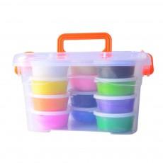 Colorful Non-toxic DIY Crystal Mud, Early Education Snowflake Mud (12,24,36colors)