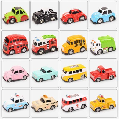 Toy Car Set For Toddlers, Pull Back Car, Alloy Puzzle Car, Mobilization Q Version Mini Car