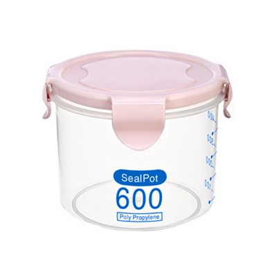 Clear Plastic Food Storage Containers With Lids, Transparent Snack Storage Containers Airtight