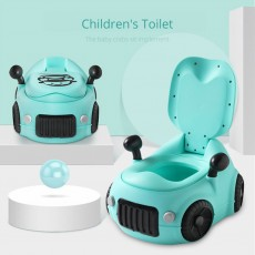 Baby Potty Car, XL Children'S Toilet For Boys And Girls, With High Back Ridge Design