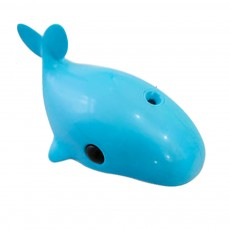 Mini Blue Whale Body Sensor Light, Creative USB Charging Intelligent Light, Bedside Led Night Light