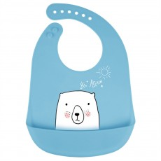 Best Baby Bibs For Eating, Wash-Free Silicone Baby Feeding Bib
