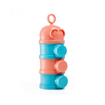 Baby Milk Powder Storage Container, 3 Layers Portable Formula Storage Box