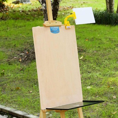 Wooden Sketch Drawing Easel, Beginner 4K Sketch Drawing Professional Art Drawing Easel Set