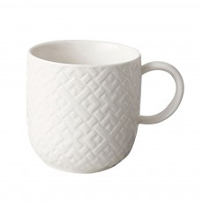 Ceramic Embossed Mugs, Plain Color Porcelain Coffee Mugs For Household Coffee Shop Bookshop Restaurant