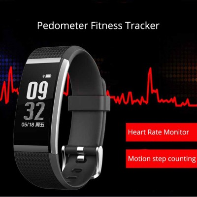 Wristband Pedometer Fitness Tracker, Fashion Exercise Sports Bracelet For Heart Rate Monitoring