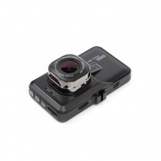 HD mini Car Recorder for Night Vision Wide-angle Driving, 3 inch Black Diamond  Driving Recorder