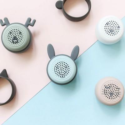 Universal Bluetooth Speaker, Mini Portable Creative Mobile Selfie Sounder for Gift