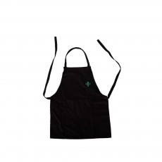 Nordic Style Sleeveless Cotton Apron, Innovative Black Bib for Kitchen & Garden