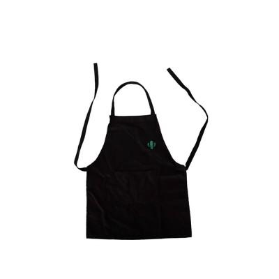 Nordic Style Sleeveless Cotton Apron, Innovative Black Bib for Kitchen & Garden