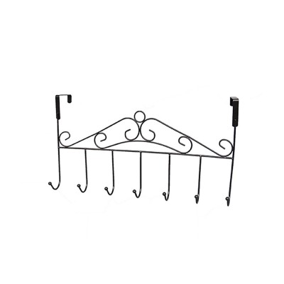 Metal Seamless Door Hook, Decorative Hook Organizer for Hat, Belt, Towel, Coat, Dress