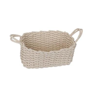 Minimalist Hemp Rope Storage Basket, Stylish Square Storage Container