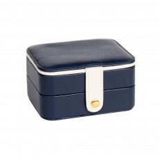 Small Jewelry Box With Lock, Traveling Storage Case Organizer With Mirror For Jewelry Accessories