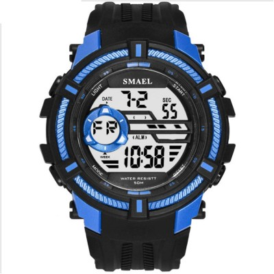 Multifunction Smart Electronic Watch, Luminous Mode, Water-proof, with Resin Strap