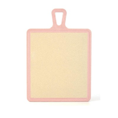 Plastic Chopping Board Set with Groove, Wheat Straw Kitchen Anti-mildew Cutting Board