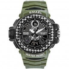 Digital Watches with Resin Strap, Multifunctional Watch Supporting Luminous Mode, 50 Meters Water-poof & Alarm Clock