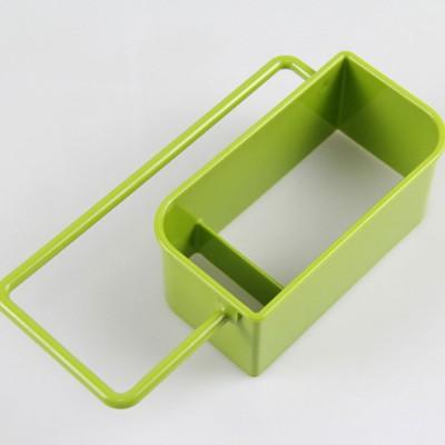 Sink Storage Rack for Sponge Pan Brush Storage, Kitchen Rack with Filter Hole & Anti-skid Bottom