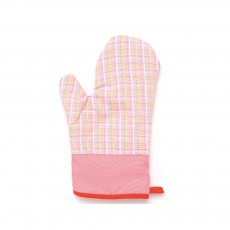 Cotton Microwave Oven Gloves, Heat Insulating Gloves with Gorgeous Plaid