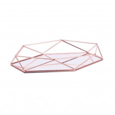 Iron Wire Art Storage Box, Acrylic Storage Basket Cosmetic Jewelry Toy Storage Box