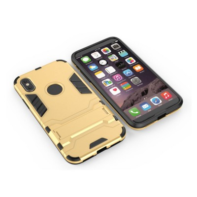 Iron Man Armor Phone Case for All iPhone, Anti-fall Phone Protective Shell with Panther Design