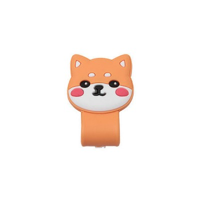 Soft Silicone Wire Cable Organizer, Cartoon Animals Line Manager for Data Cable