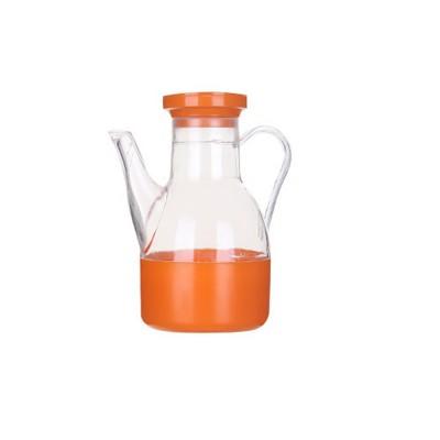 Acrylic Small Oil Pot, Leak-proof Color Oil Pot for Putting Soy, Sauce, Sesame Oil
