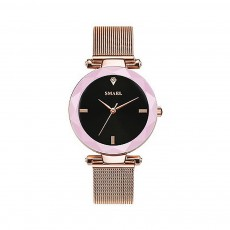 Women's New Fashionable Quartz Watch, Korean Style Metal Strap Watch