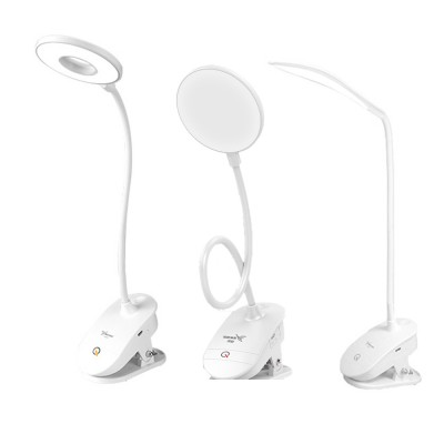 Dual USB Chargeable Eye Care Lamp, Reading Touch LED Lamp For Students, Dormitory