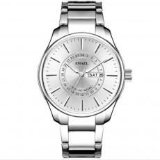 Men's Quartz Watch with Calendar Design, Texture Multifunctional Water-poof Outdoor Sports Watch